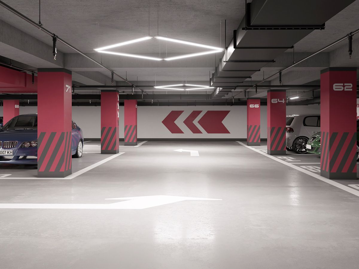 Underground Parking In Rc Kub House On Behance With Images