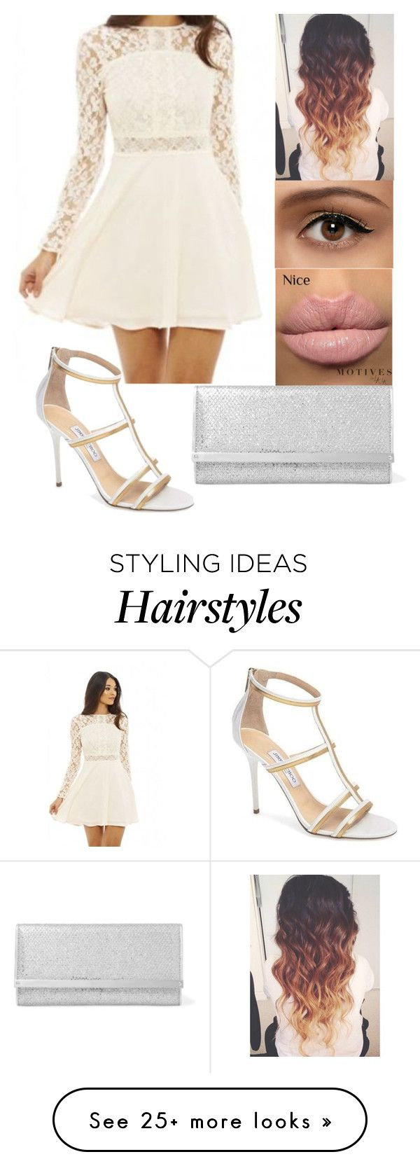 """""""Set #737"""" by cry-baby-089 on Polyvore featuring AX Paris and Jimmy Choo"""
