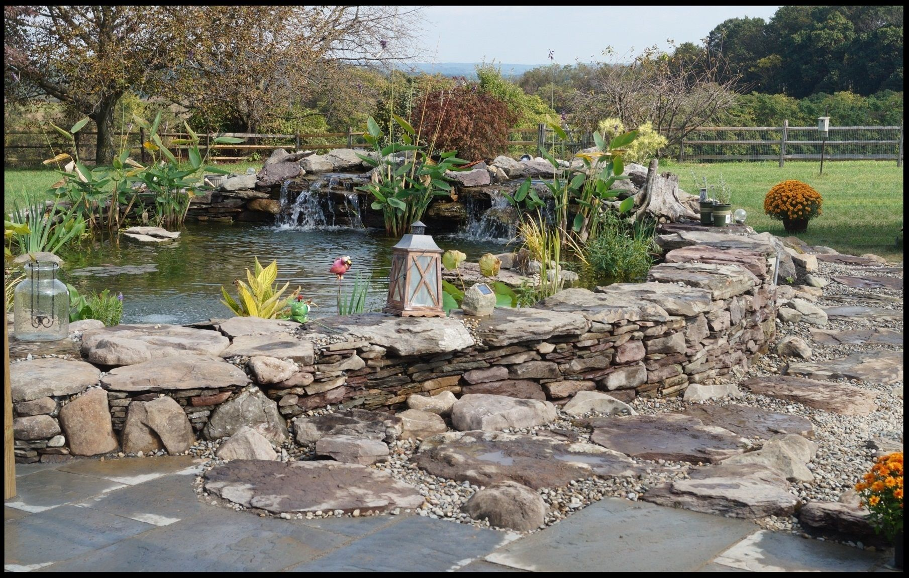 Image result for raised pond natural stone | Pond ... on raised rock garden ideas, raised vegetable garden plans, raised flower garden ideas,