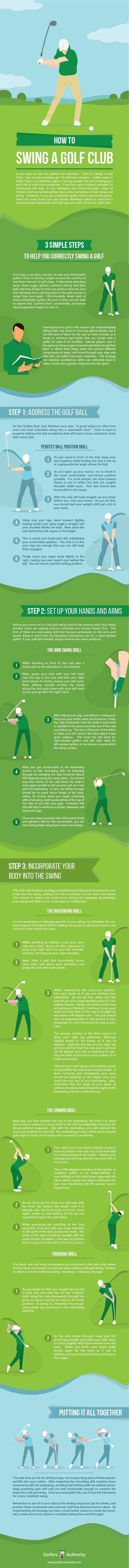 Not sure if you are swinging the golf club correctly? Check