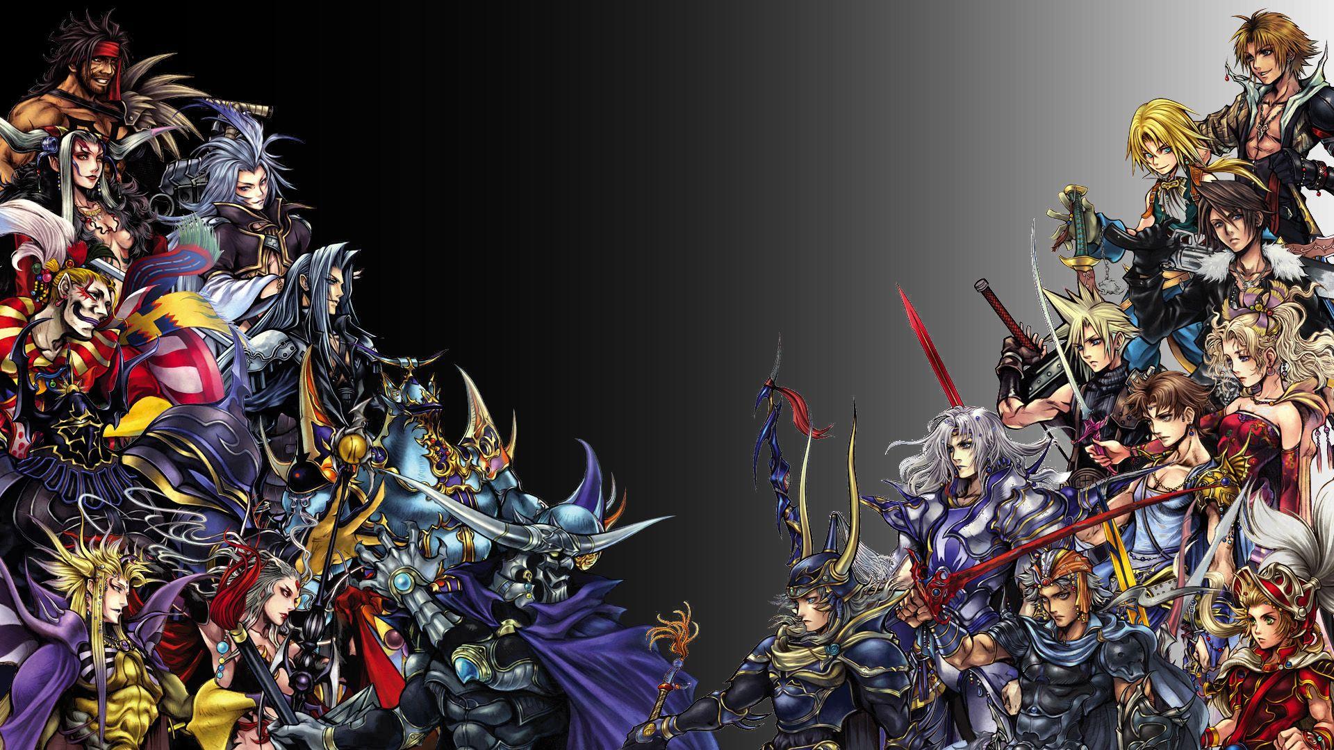 Final Fantasy Good Vs Evil Final Fantasy Cloud Strife Lightning Final Fantasy Final Fantasy Cloud Final fantasy full hd desktop wallpapers