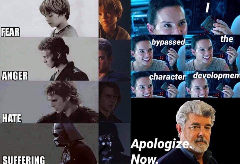 Another Prequels Sequels Meme Prequelmemes Star Wars Humor Star Wars Facts Star Wars Empire
