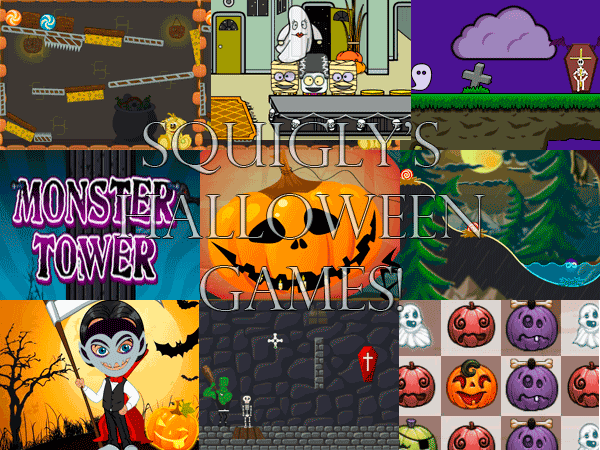 child friendly free online halloween games at squiglys playhouse - Free Online Halloween Games For Kids
