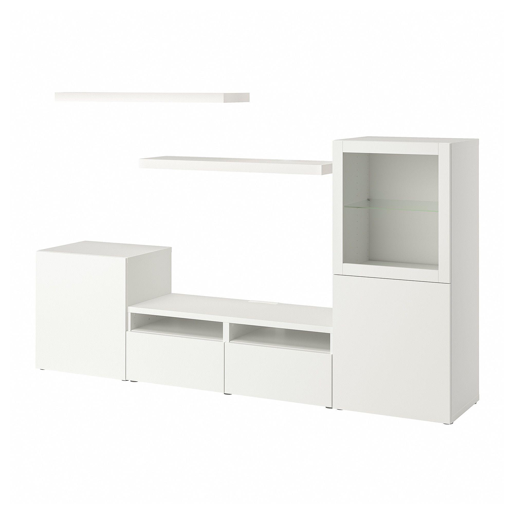 Besta Lack Ikea Tv Benches Komnit Furniture En 2020 Meuble Tele Meuble Tv Etageres Lack Ikea