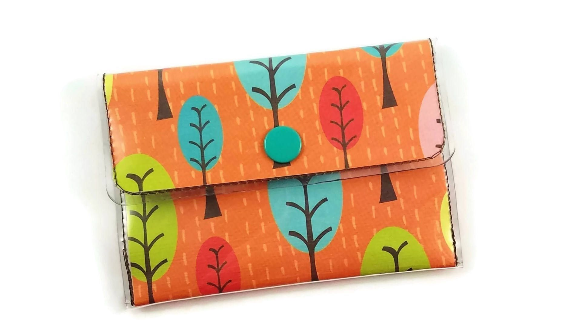 Vinyl wallet forest handmade wallet autumn trees vinyl business vinyl wallet forest handmade wallet autumn trees vinyl business card holder cute wallet colourmoves