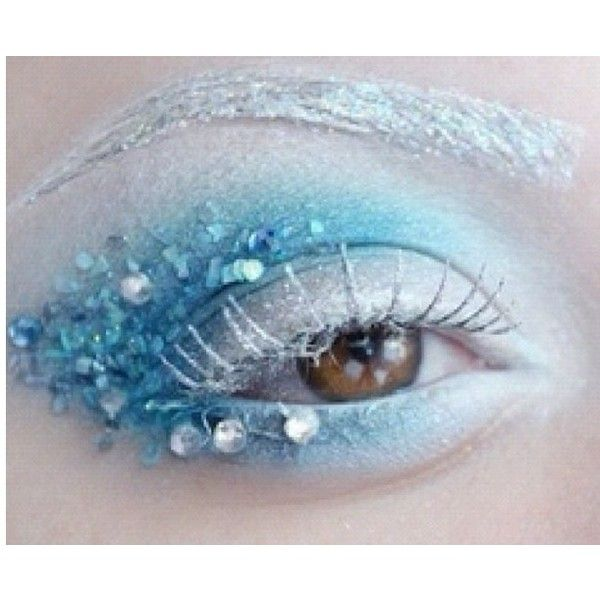 Snow Queen Eye Makeup Dark Mood Board Liked On Polyvore
