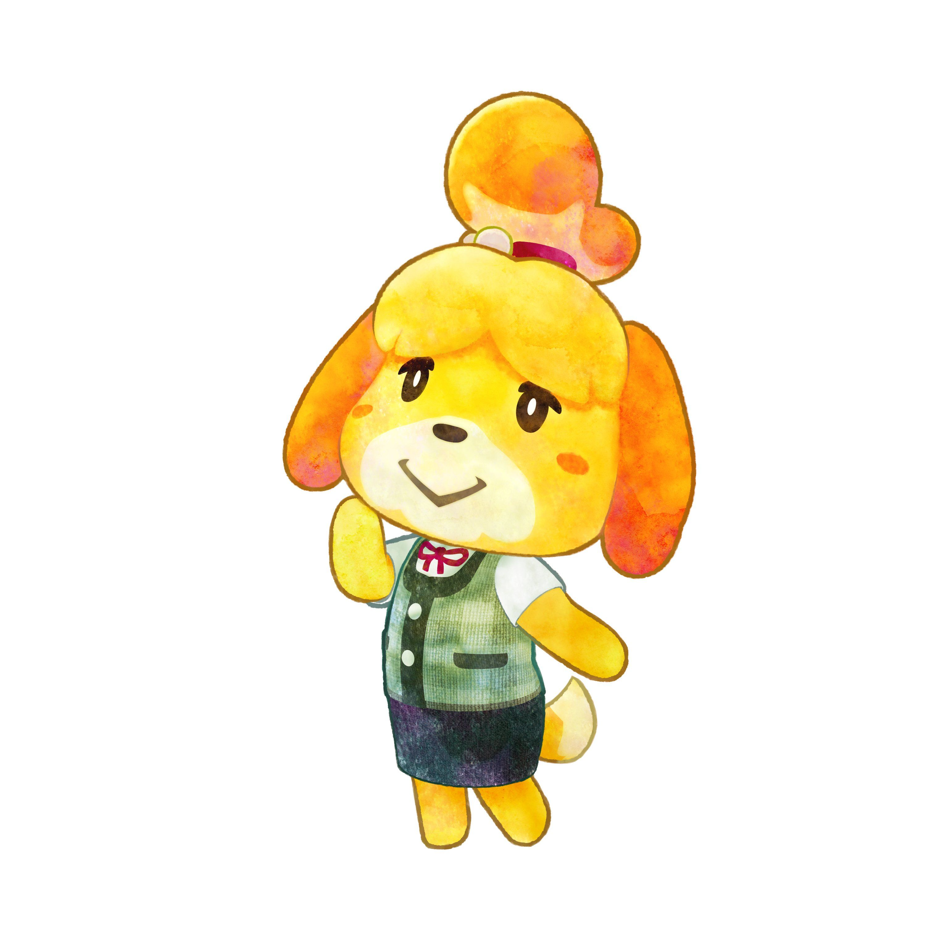 Isabelle   Animal Crossing: Happy Home Designer