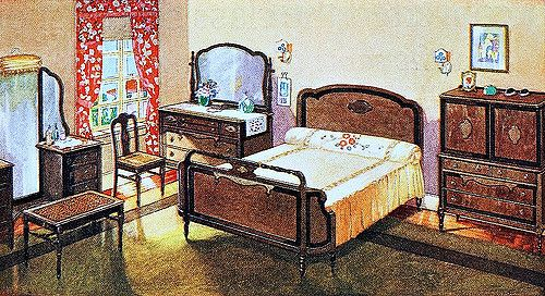 From An Ad For Cavalier Furniture In The November 1924 Issue Of Good  Housekeeping Magazine.