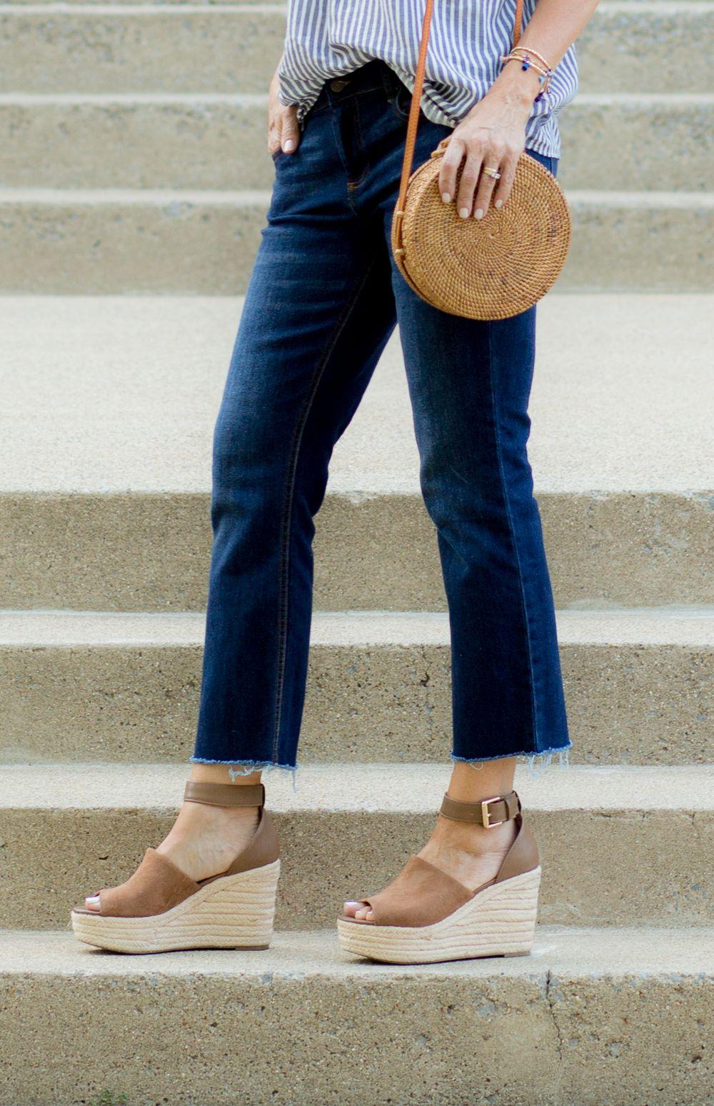 d6943402bc0 Crop Flare Jeans Under  30 - Cyndi Spivey