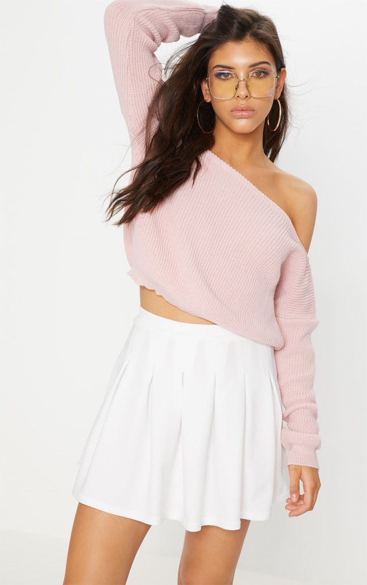 White Pleated Tennis Skirtgirl Add Some Sports Vibe To Your Look With This Tennis Skirt Fe Tennis Skirt Tennis Fancy Dress White Pleated Tennis Skirt
