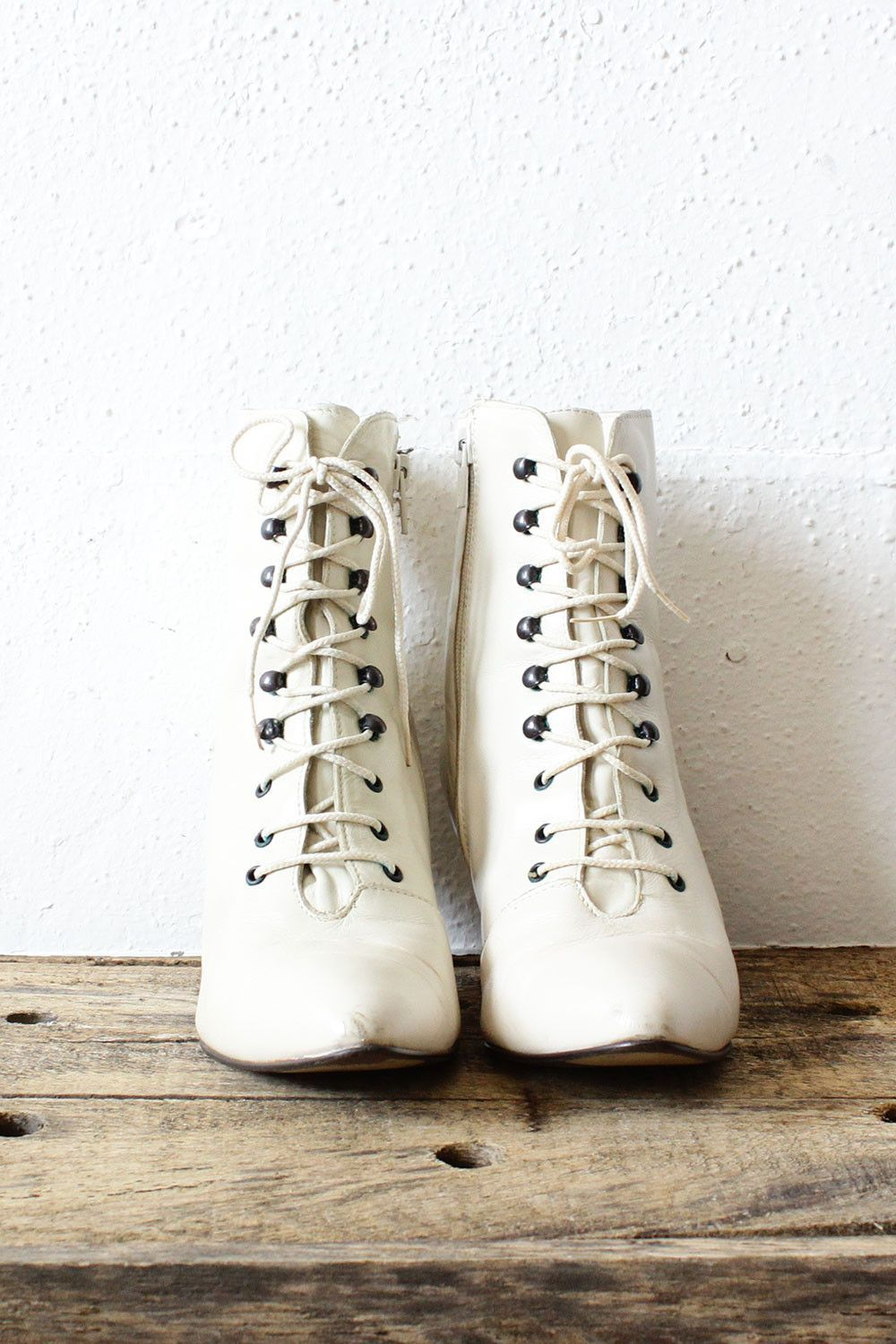 Lace Granny Boots