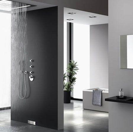 La douche à lu0027italienne  pratique et super tendance  11-02-2011 - salle de bain design douche italienne