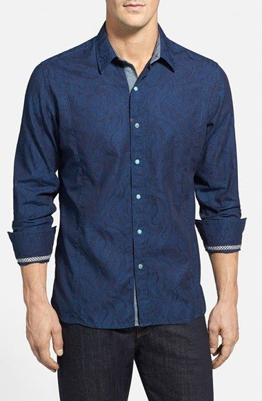 Robert+Graham+'Travis'+Tailored+Fit+Sport+Shirt+available+at+#Nordstrom