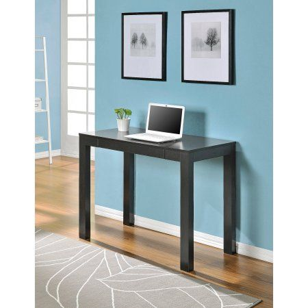 Mainstays Parsons Desk with Drawer, Multiple Colors - Walmart.com
