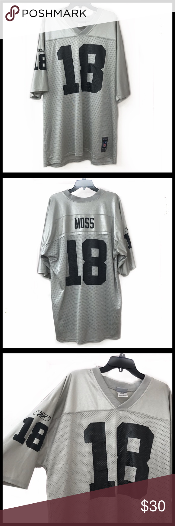 new product 9740d b8f74 Reebok Oakland Raider Randy Moss Jersey Reebok Oakland ...
