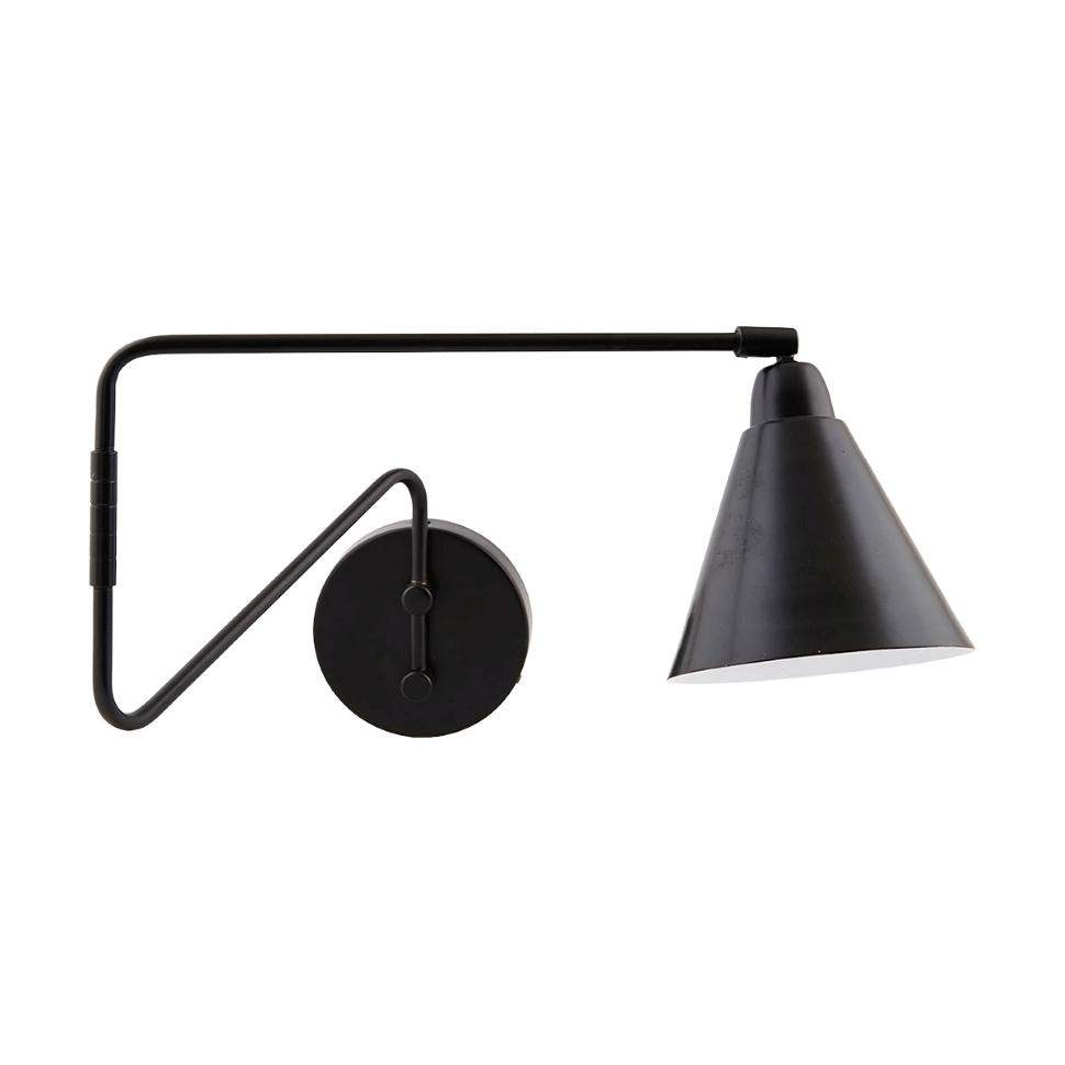 Game Wall Lamp Black Small 20 Cm Black Wall Lamps Black Wall