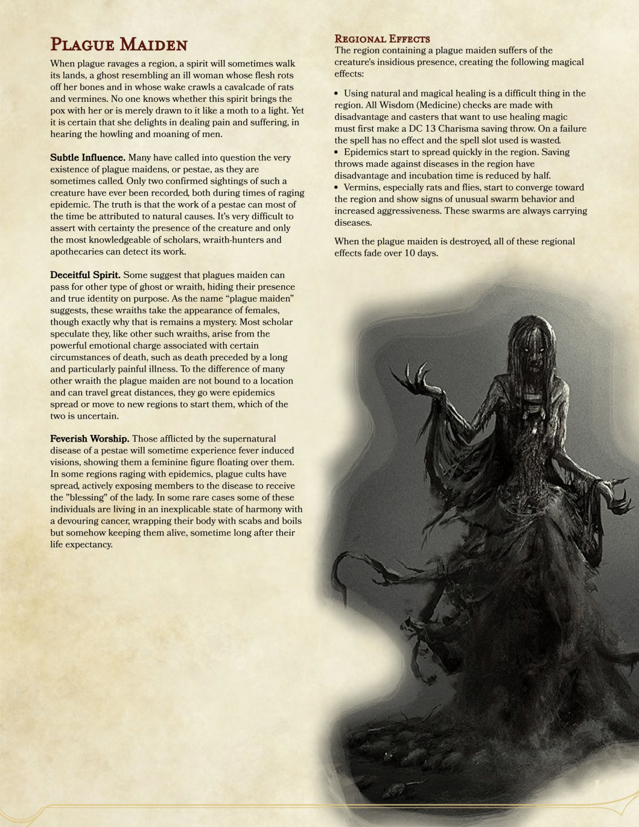 DnD 5e Homebrew — The Witcher monsters Part 2 by Regerem | D&D in