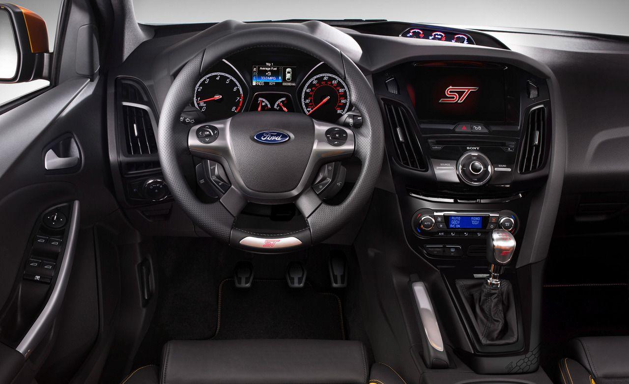 Ford focus st interior 2015 facelift inside