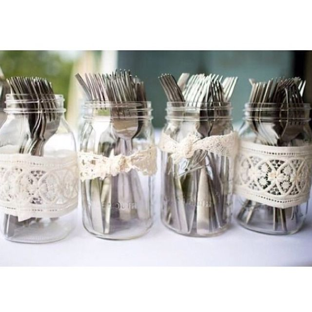 Cute Wedding Ideas For Reception: Top 27 Clever And Cute DIY Cutlery Storage Solutions