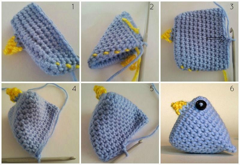 Crochet Easter Chicks Pattern | kanela 3 | Pinterest