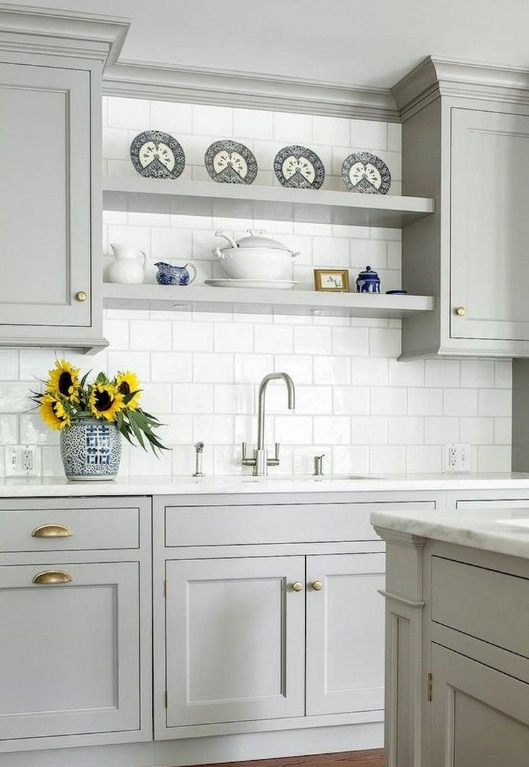 94 remarkable farmhouse gray kitchen cabinet design ideas farmhouse graykitchencabinets on farmhouse kitchen grey cabinets id=39524