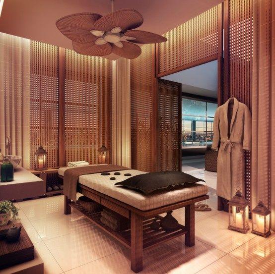 Admirable Une salle de massage bien éclairée // blog.interieuressentiel.com IV-56