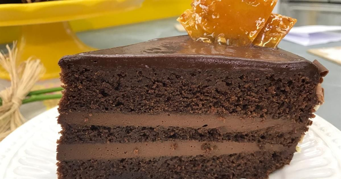 Bolo Mousse De Chocolate Receita Com Imagens Ideias Mousse
