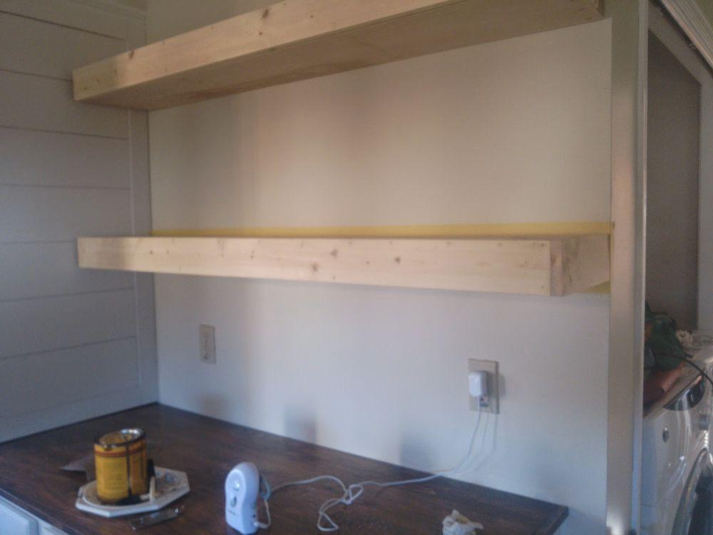 $20 DIY Floating Shelves