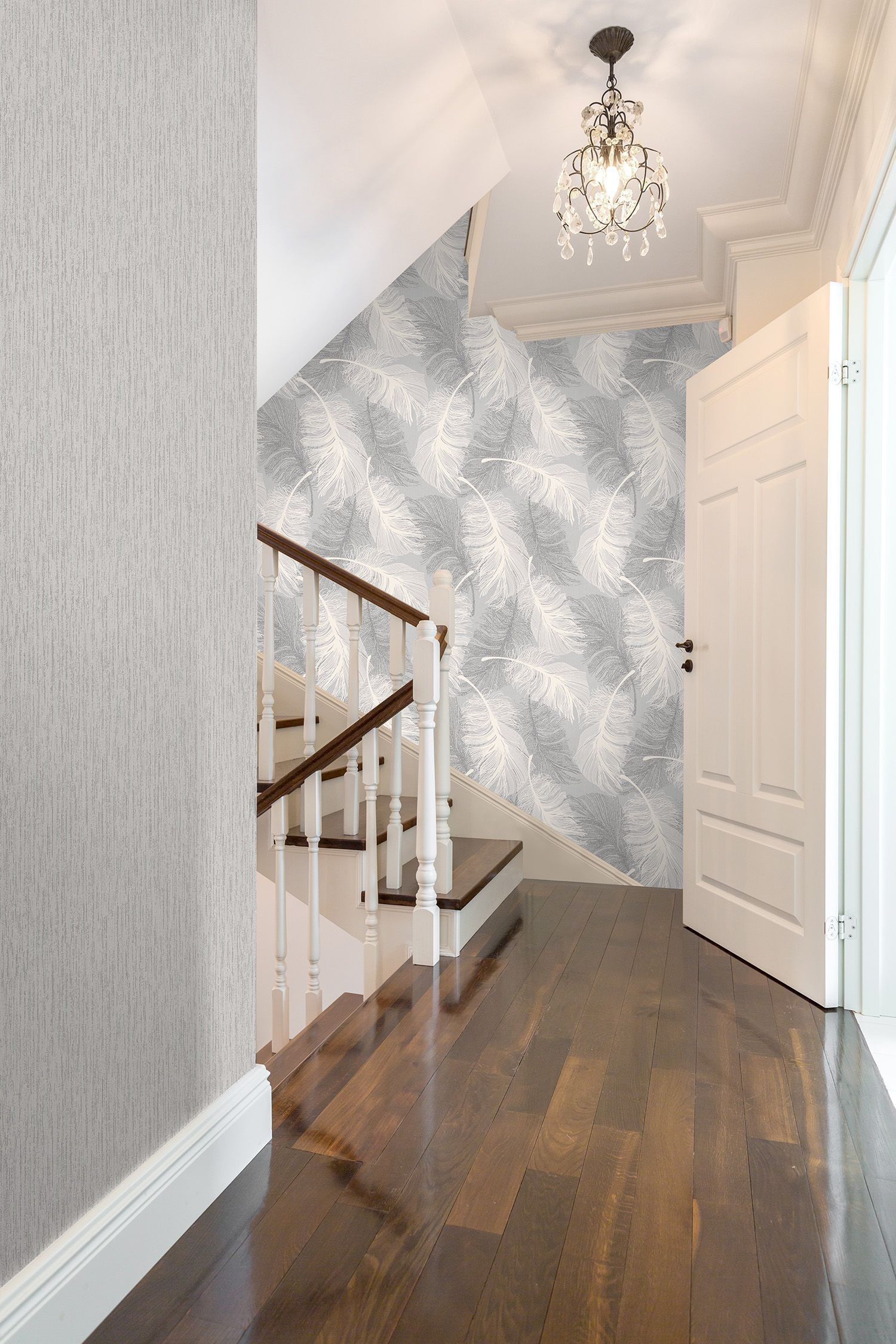 16 Hallway Wallpaper Ideas For Your Home Hallway Wallpaper Small Hallways Wallpaper Bedroom Feature Wall