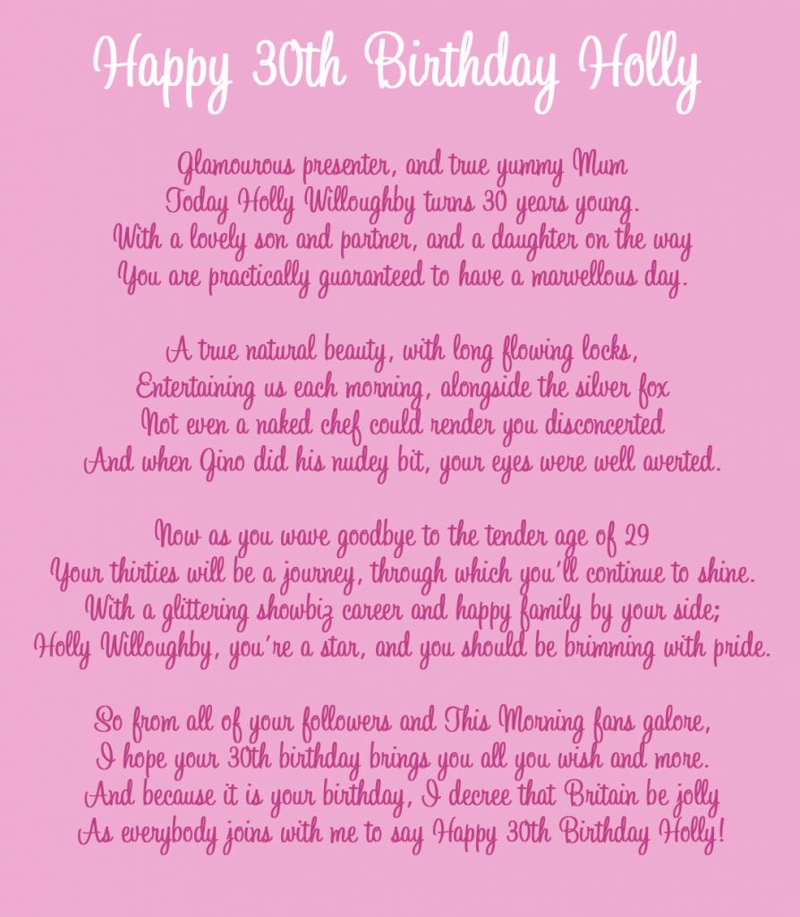 52 Best Happy Birthday Poems: Happy Birthday Pictures