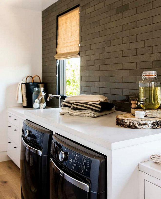 Laundry Room Backsplash glazed brick backsplash tile. laundry room backsplash tile