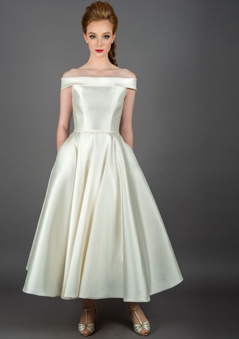 dd45a1acd48 ... short wedding dress with pockets. Callie