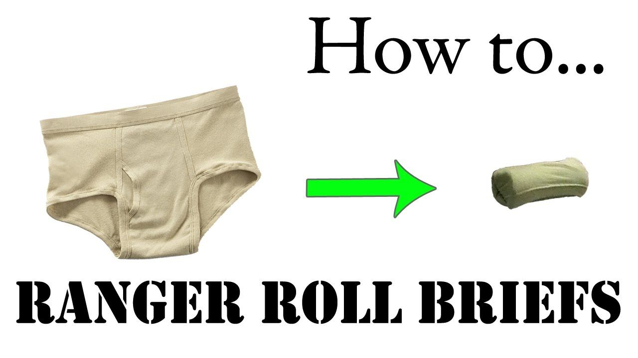 Pin On Roll Packing Military Style