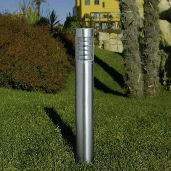 DESCUENTOS - OFERTAS Baliza iluminación exterior jardines acero