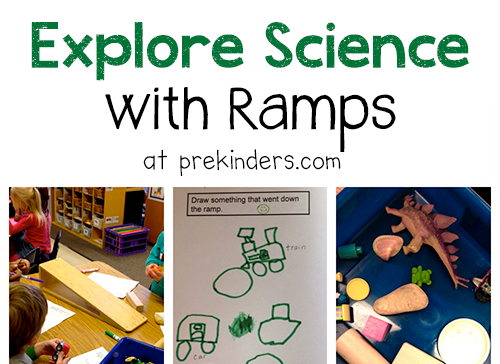 Exploring Science In Pre-K With Ramps