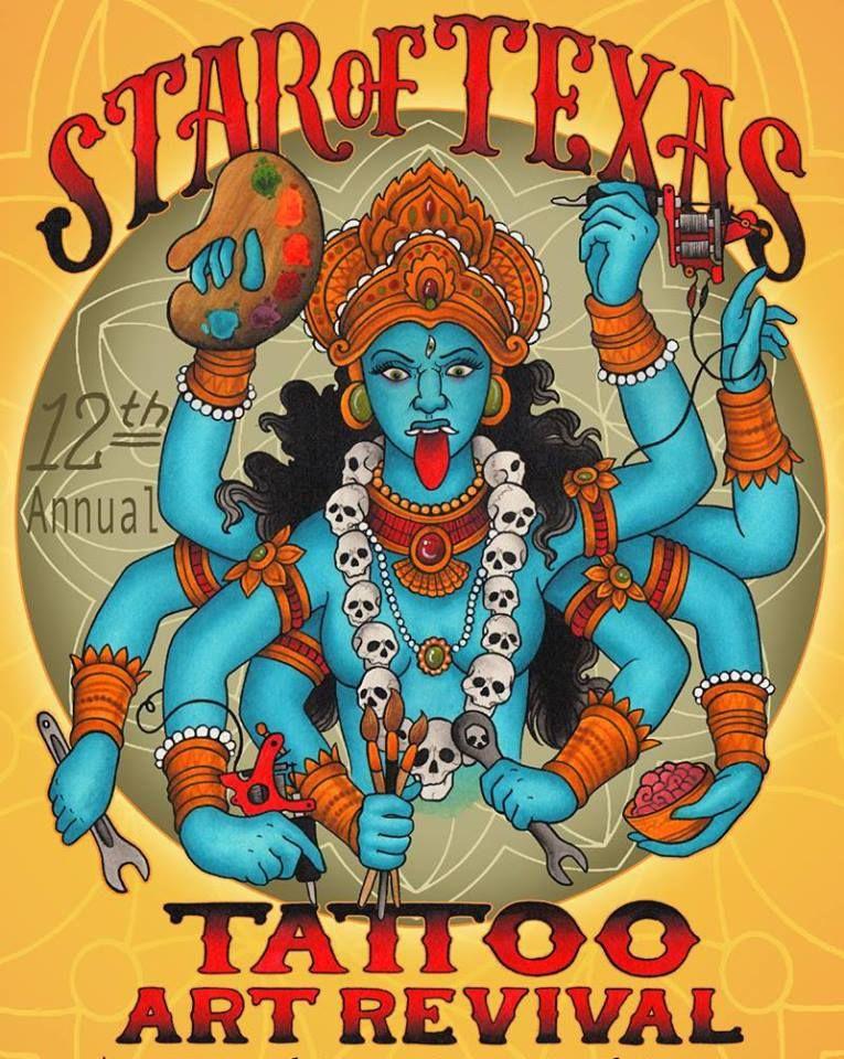 18th star of texas tattoo art revival january 2020