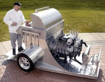 15 awesome homemade grills just in time for memorial day regretful morning - Cool Homemade Stuff
