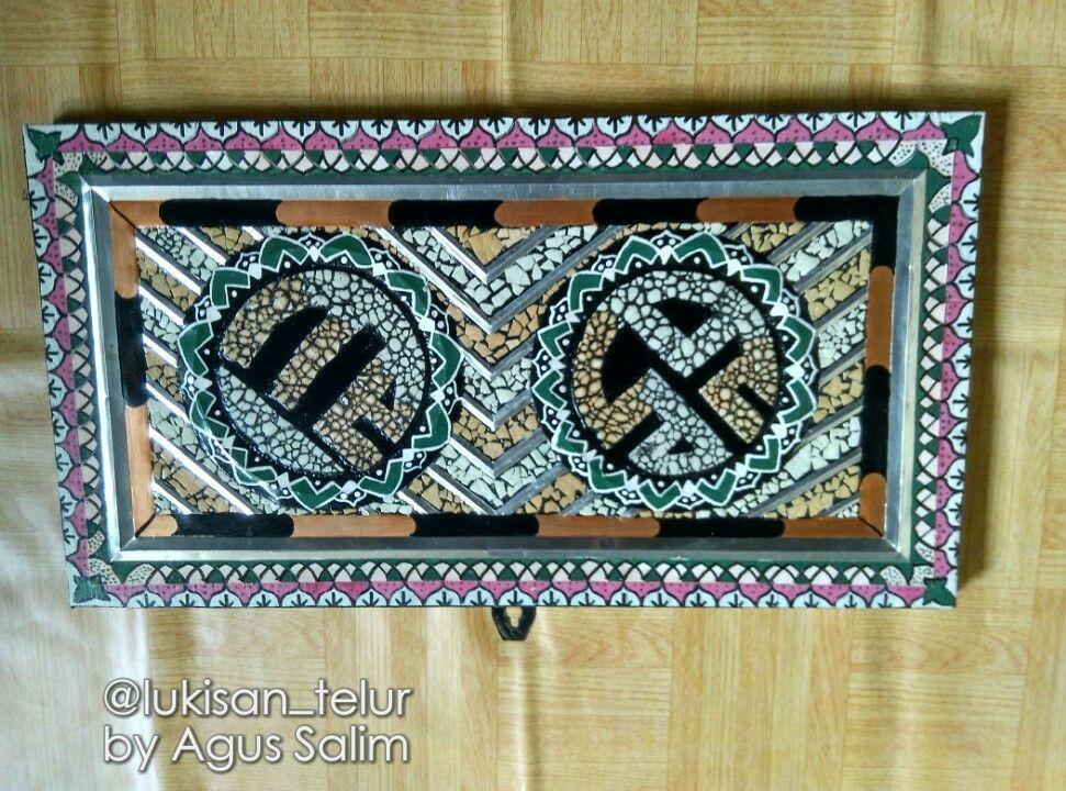 Pin Di Mozaik Eggshells Art