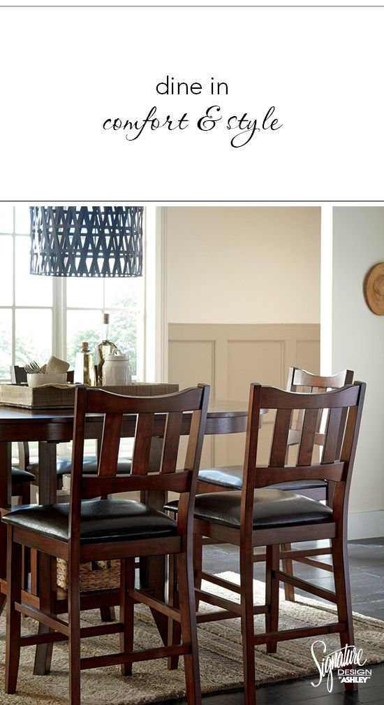 Room · Dine In Comfort And Style! Renaburg Dining Room Set   Ashley  Furniture ...