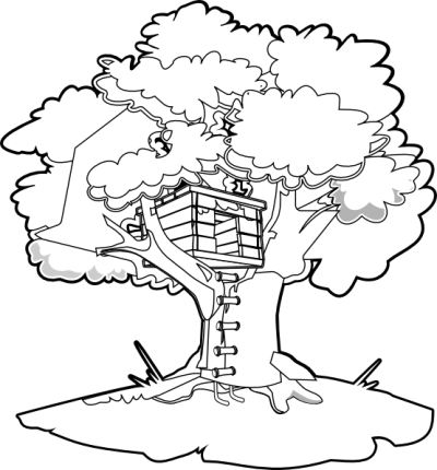Magic Tree House Coloring Pages With