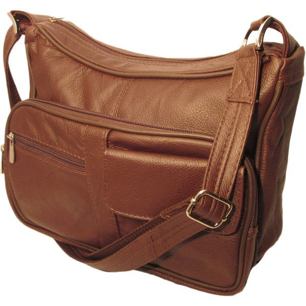 d97d561aa198 Genuine Top Grain Leather Concealed Carry Shoulder  Messenger Bag CCW  ( 110) ❤ liked · Brown Crossbody BagBlack BagsBrown ...