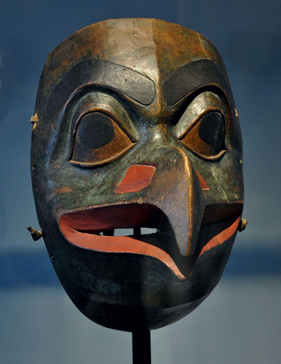 File:Tlingit eagle mask Museum...