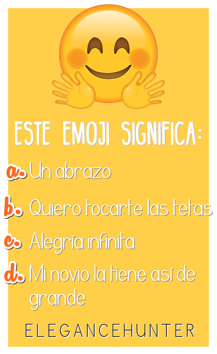 El emoji de la discordia | Elegance Hunter | Pinterest | Abrazo, El ...