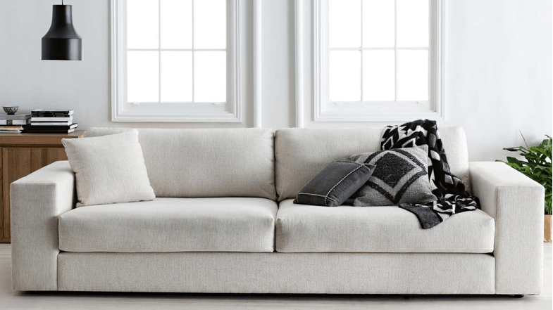 Bolton Fabric Sofa Domayne Furniture Lounge Couch Lounge