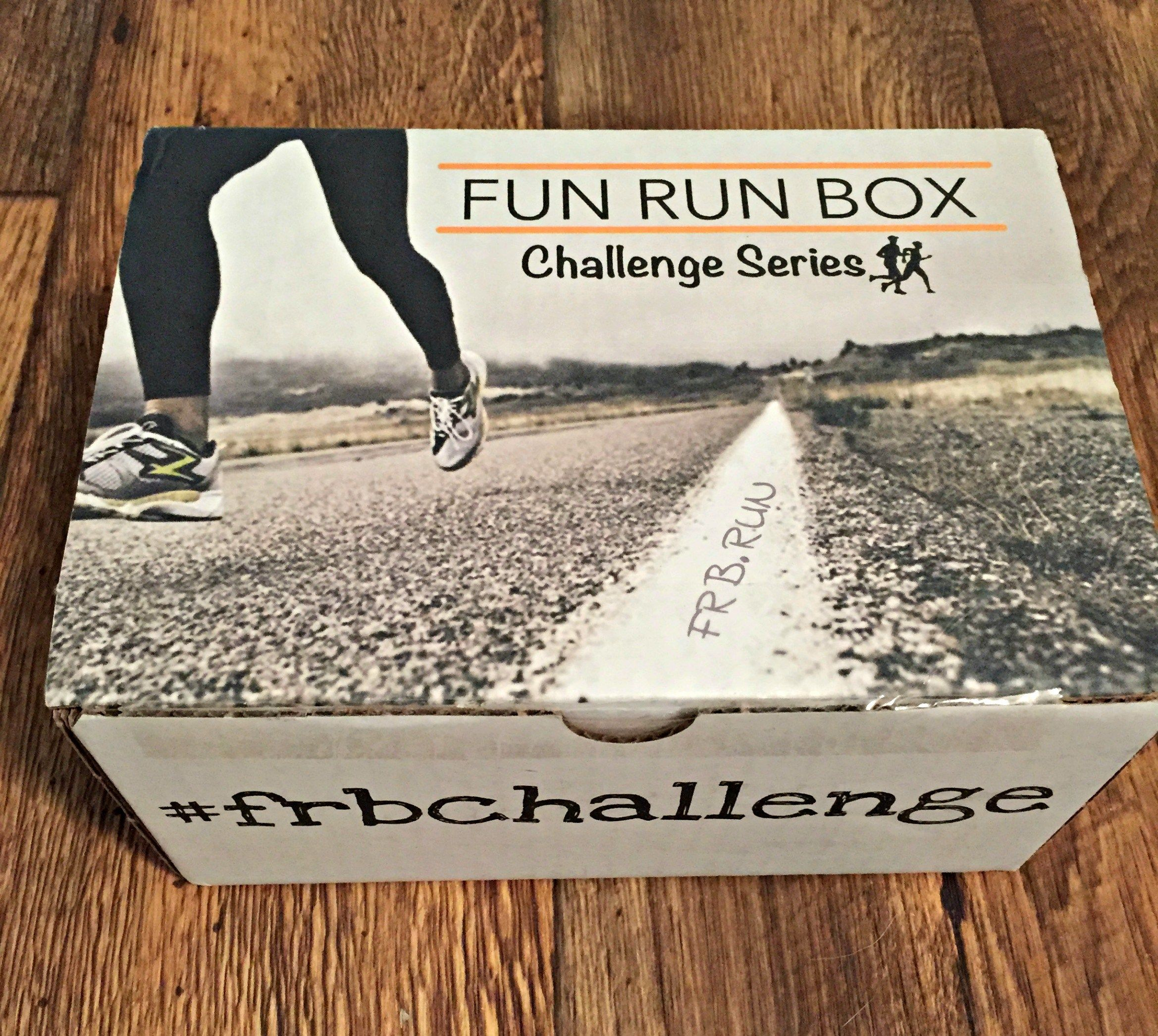 Fun Run Box Subscription box for runners - all the details