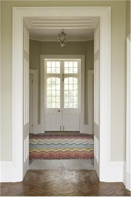 From Modern Country Style Blog Colour Study Farrow And