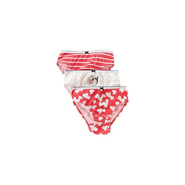 87f92d6b3 Bonjour Kitties Panties Three-Pack ( 10) ❤ liked on Polyvore featuring  underwear