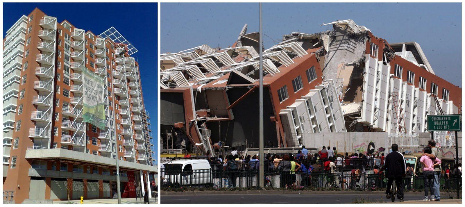 Terremoto En Chile, 2010. El Edificio Alto Río, De 15