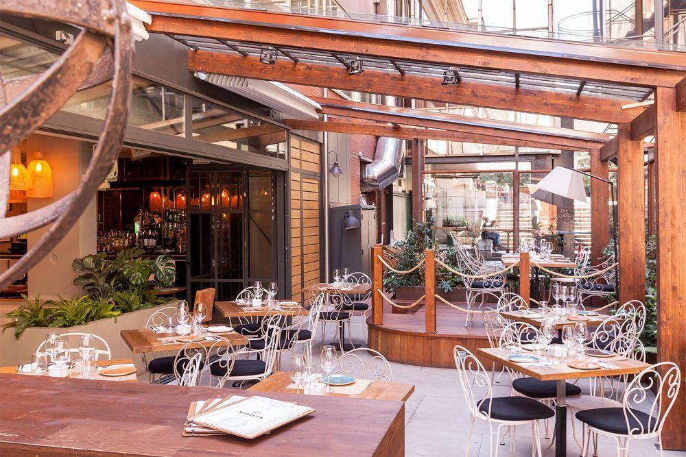Jardin Warehouse Terraza Restaurante Terraza Terrazas Madrid