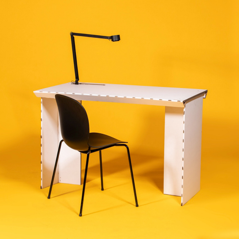 Stykka Has Developed A Simple Flat Pack Workstation That Can Be
